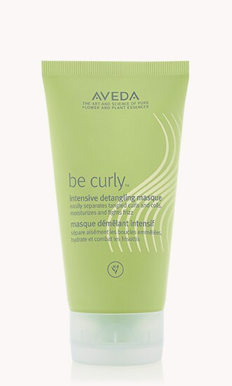 "be curly<span class=""trade"">™</span> intensive detangling masque"